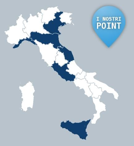 Mappa don orione in italia